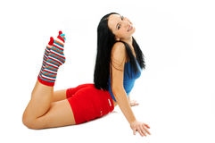 Sporty woman Stock Image