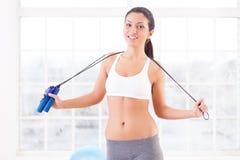 Sporty woman. Stock Photo