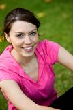 Sporty woman portrait Royalty Free Stock Images