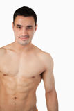 Sporty young male topless Royalty Free Stock Photos