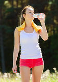 Sporty young woman Royalty Free Stock Photography