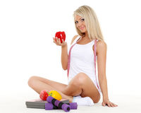 Concept of healthy lifestyle. Royalty Free Stock Image