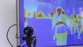 Sporządzanie termogramu jednostka pod przerobem, nowożytni technologia szczegóły zbiory wideo