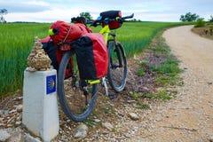 Sposób świętego James jechać na rowerze Zdjęcia Royalty Free