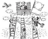 Sposób duży szef (wektor) ilustracji