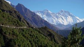 Sposób Everest w himalajach zdjęcie wideo