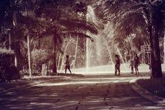 Sposób fontanna Fotografia Royalty Free