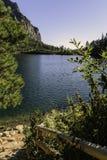 Sposób Popradske Pleso wysoki Tatras, Vysoke - Tatry - Fotografia Stock