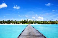 Sposób raj wyspa Zdjęcia Stock