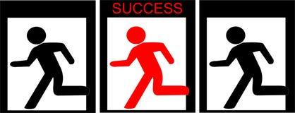 sposób sukces Obraz Royalty Free