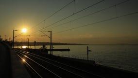 Sposób wschód słońca Obrazy Royalty Free