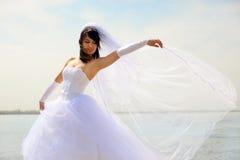 sposa abbastanza Fotografia Stock Libera da Diritti