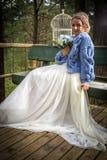 Sposa al giorno delle nozze fotografie stock