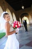 Sposa alla cerimonia nuziale Immagini Stock
