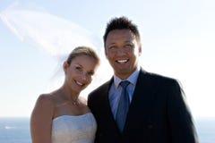 Sposa & sposo Fotografie Stock