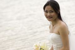 Sposa asiatica 2 Fotografie Stock