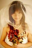Sposa asiatica immagine stock libera da diritti