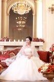 Sposa asiatica Fotografia Stock