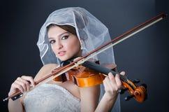 Sposa bella Fotografia Stock Libera da Diritti