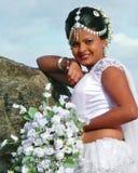 Sposa dei ricchi dello Sri Lanka Immagini Stock