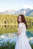 Sposa della montagna Fotografie Stock