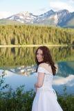 Sposa della montagna immagini stock