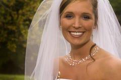 Sposa della sorgente Fotografia Stock