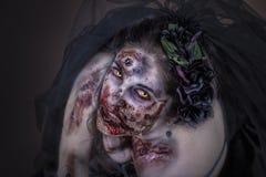 Sposa dello zombie Immagine Stock