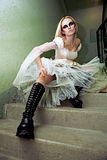 Sposa di Gothik fotografia stock