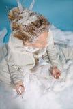 Sposa di inverno Fotografie Stock Libere da Diritti