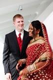 Sposa e sposo Immagini Stock