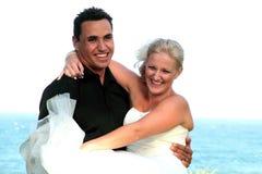 Sposa e sposo 2 Immagini Stock Libere da Diritti