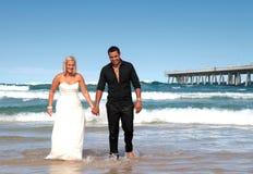 Sposa e sposo 6 Fotografie Stock