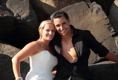 Sposa e sposo 8 Immagini Stock Libere da Diritti