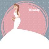 Sposa elegante Immagini Stock