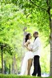 Sposa esterna Fotografia Stock Libera da Diritti