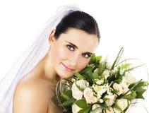 Sposa felice Fotografia Stock