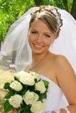 Sposa felice Fotografie Stock Libere da Diritti