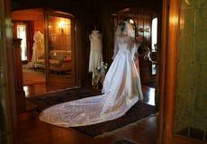 Sposa (fuoco romantico molle) Immagini Stock