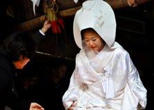 Sposa giapponese Fotografia Stock Libera da Diritti