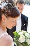 Sposa graziosa. fotografie stock libere da diritti