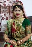 Sposa gujarati - India Fotografie Stock