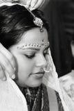 Sposa indù fotografia stock libera da diritti