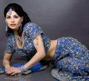 Sposa indiana Immagini Stock Libere da Diritti