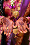 Sposa indiana Fotografie Stock Libere da Diritti