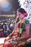 Sposa indiana Immagini Stock