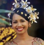 Sposa indonesiana Fotografia Stock