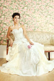 Sposa matura romantica Fotografie Stock Libere da Diritti