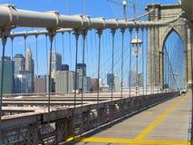Sposa New York City di Brooklyn fotografia stock