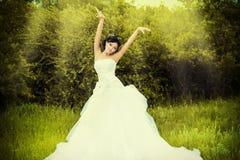 Sposa orientale Fotografie Stock